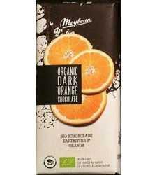 شكلات تلخ ميوه اي ارگانيك با تكه هاي پرتقال